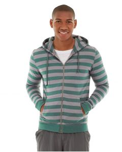 Ajax Full-Zip Sweatshirt -L-Blue