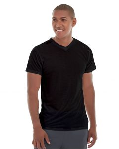 Ryker LumaTech™ Tee (V-neck)-XL-Black