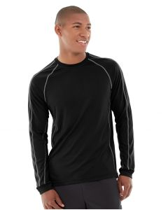 Deion Long-Sleeve EverCool™ Tee-S-Black