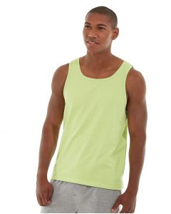Tiberius Gym Tank-S-Yellow