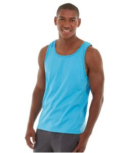 Atlas Fitness Tank-M-Blue