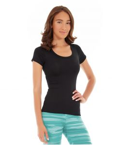 Desiree Fitness Tee-M-Black