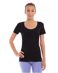 Juliana Short-Sleeve Tee-M-Black