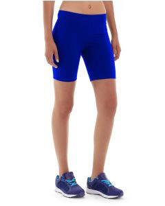Echo Fit Compression Short-28-Blue